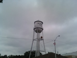 The Mechanicsville Water Tower