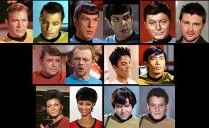 Star Trek Crew Comparison