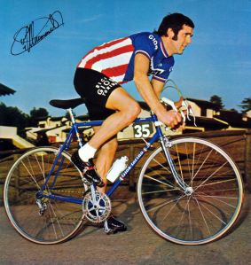 Roger DeVlaeminck. One of the best classics and cyclocross riders ever!