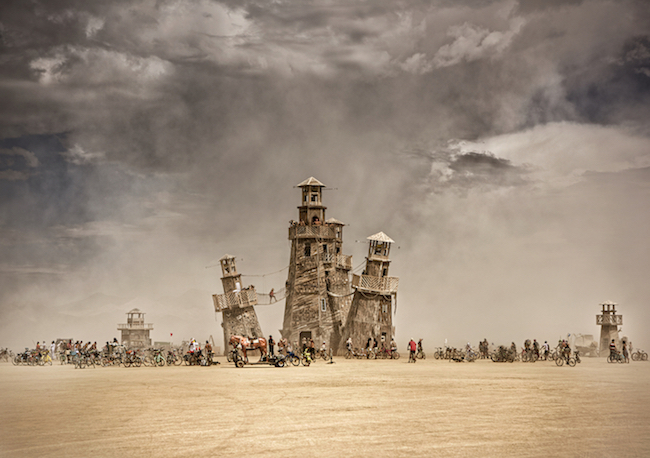 small-Lighthouse Cluster-burningman